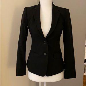 Classic black blazer for petite figure